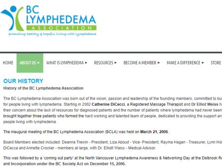 BC Lymphedema