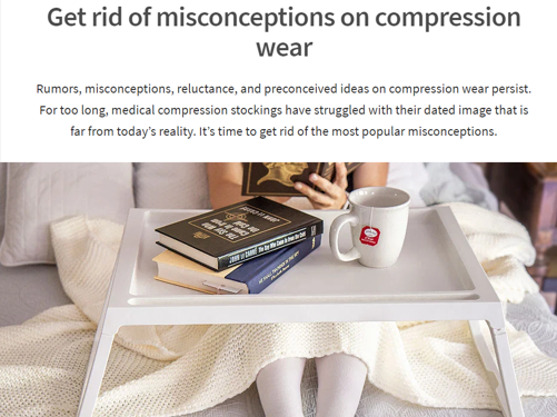 Misconceptions on compression stockings