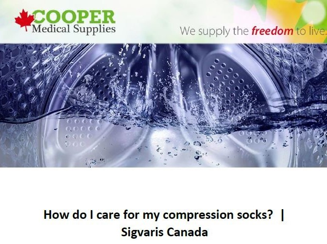 How to care for compression stockings