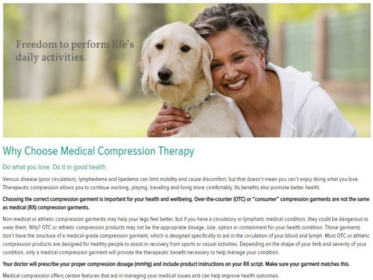 why compression therapy